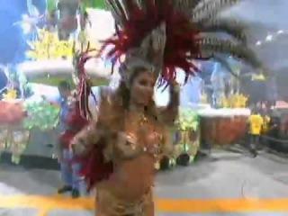 Carnaval : Musas do segundo dia de desfiles em São Paulo.19.02.2012