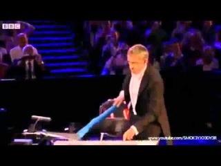 Мистер Бин на открытии Олимпиады 2012