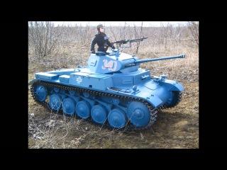 Panzer II  & Schwimmwagen 1/6 scale Rc