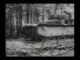 Russian tanks on Eastern front