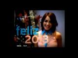 Lali Esposito y Euge Suarez saludan al nuevo año 2013 - Canal El Trece.