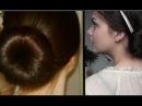 Sock bun secret revealed: giant bun heat free curls!