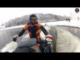 Winter burn out on wakeboards, или мой лучший зимний отжиг )))