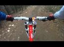 Olly @ Cwmcarn Downhill March 2011 DH MTB