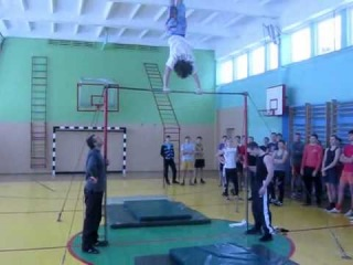 Открытая тренировка турникменов Слуцка 5.02.12
