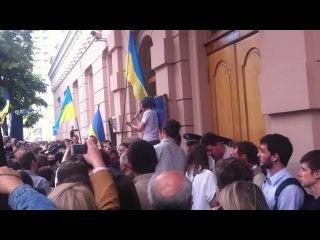 Ирена Карпа в захист української мови 24 травня 2012 року