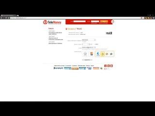 Оплата услуг на сайте telemoney.ru с помощью платежной системы WebMoney