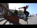14 летний парнишка разминается по перилке!   14 Year Old Vincent Nava || HANDRAIL WARMUPS