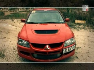 Mitsubishi Lancer Evolution -- Красный Дракон 1/4MILE MOLDOVA TVN4