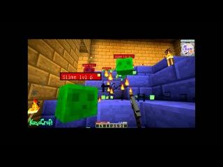 LP Minecraft : Hack Slash Mine ч.3 - Наконец подземелья !