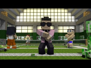 Minecraft Style - A Parody of PSY's Gangnam Style