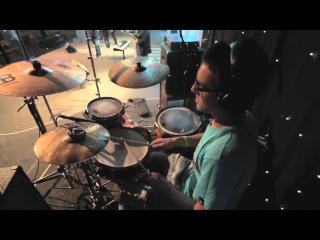 Jeka Volkodav on drums (in church)