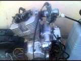 Работа мотора Lifan Lf200 Gy 164 Fml без клапанной крышки