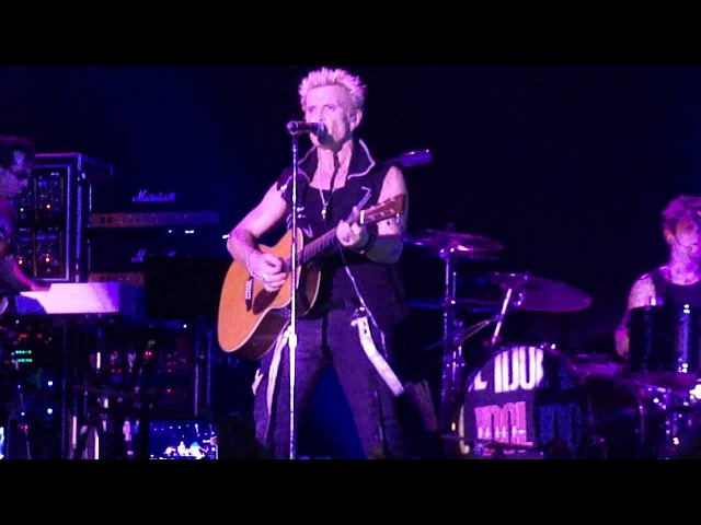 BILLY IDOL - LIVE IN MOSCOW 26/06/2012 - Sweet Sixteen