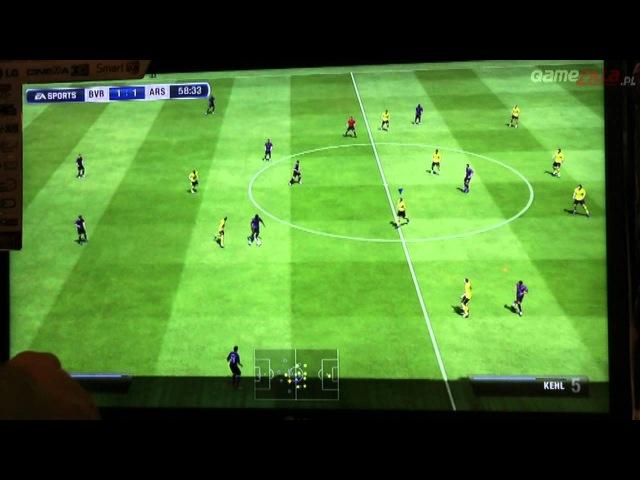 GC 2012: FIFA 13 ograna. Zobaczcie jak wygląda tegoroczna piłka od EA