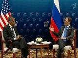 Президенты России и США провели двустороннюю встречу перед началом саммита в Сеуле - Первый канал
