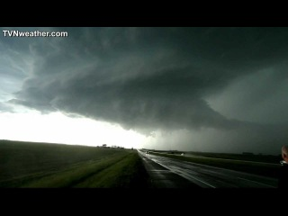 INCREDIBLE storm structure! South Dakota - June 17, 2012