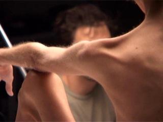 Изабель Каро на съемках рекламной кампании Оливеро Тоскани