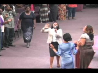 Jekalyn Carr Holy Spirit Falls in Milwaukee @Greater New Birth