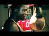 Meek Mill Hits Harder Than His Own Security Guard(Punching Bag Competition)