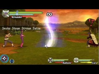 All team jutsu / tag jutus + Element jutsu- Naruto Shippuden Ultimate Ninja Heroes 3