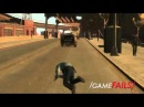 "Game Fails: GTA IV ""Officer Speed Bump"""
