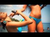 F88 Bikini Party @ Dizzy Bizzy Cafe Bar by the Sea ft Miss Ania J - Cyprus 2011 | FashionTV FTV