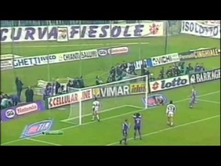 Batistuta and Rui Costa in ACF Fiorentina / Батистута и Руй Кошта в Фиорентине - сюжет канала ''НТВ+ Футбол''