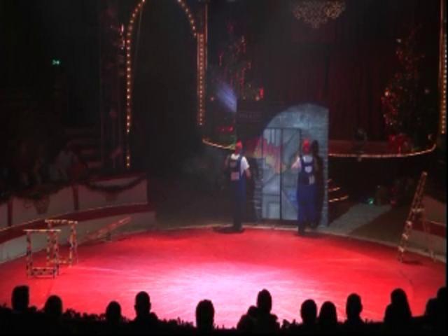 Malerentré Cirkus Dannebrog