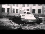 Testování prototypů lehkého tanku vz.38 a tančíku Praga