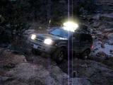 Nissan Xterra at Rock Creek - Lipan, Tx up Gas Tank Hill
