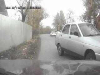 Неожиданная встреча на дороге с односторонним движением