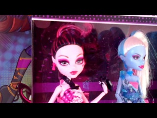 Monster High Dot Dead Gorgeous 3-Pack with Abbey, Draculaura and Ghoulia Review!!!