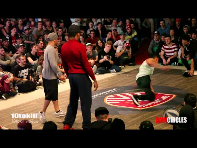 Raw Circles 2013 - 8Final - Kareem Tata (USA) Vs Yoriyas 65279; Lil Zoo (MOR)