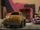 Transformers Gee Wunners Episode Four Chase Scene Stop Motion
