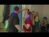 Виктор Николаев и Юлия Смирнова: сальса на вечеринке Школы Владимира Батия