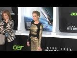 Элис на премьере фильма Стартрек: Возмездие в Лос-Анджелесе