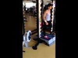 Olesya Hubenya, CrossFit Game 2014, WOD 14., 170 reps, Tiebreak 11'17'