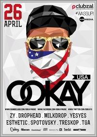 OOKAY (USA) х #WASSUP! 26.04.14