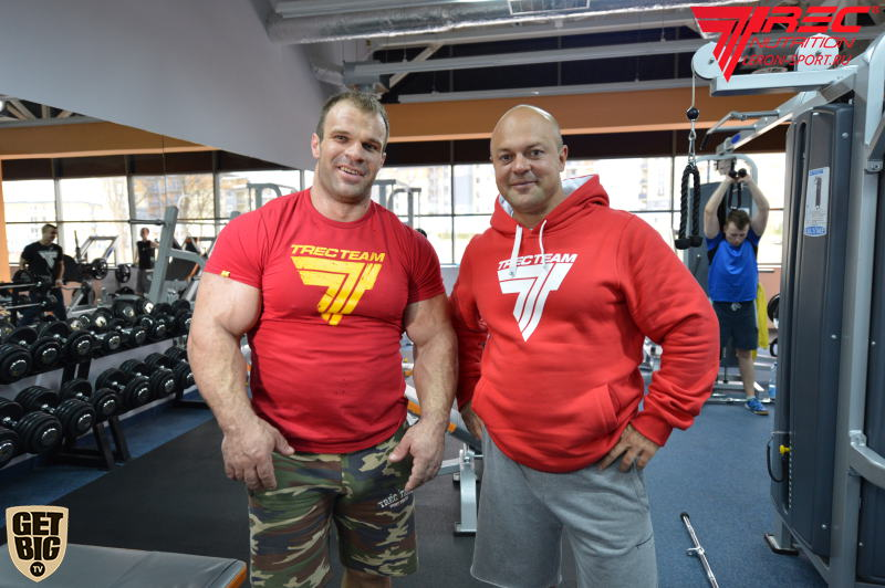 Denis Cyplenkov and Vladimir Kravtsov  │ Photo Source: Trec Nutrition