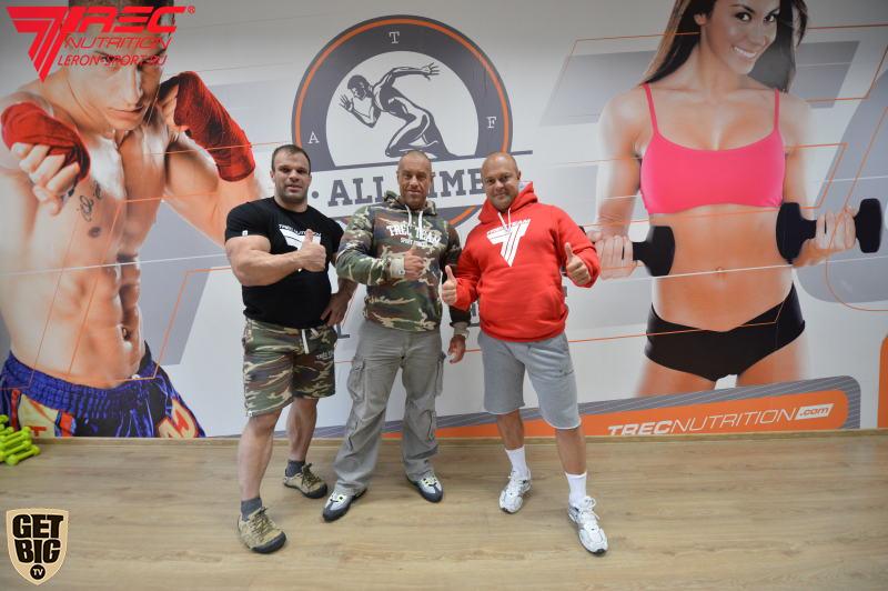 Denis Cyplenkov and Vladimir Kravtsov │ Photo Source: Trec Nutrition