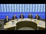 Пресс-конференция Олега Знарка и Андрея Сафронова