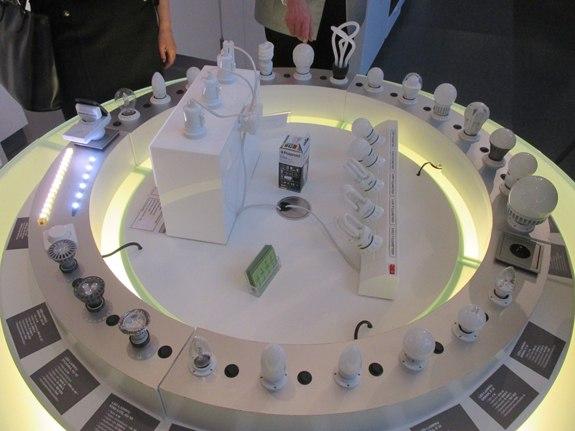 Вот такая палитра энергосберегающих ламп