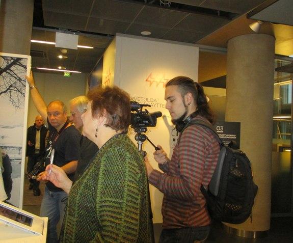 В информационном центре «Хельсингин Энергиа»