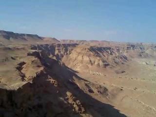 Израиль вид с крепости