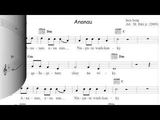 Ananau (Ocarina-Arrangement)