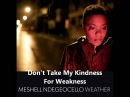 Meshell Ndegeocello - Weather (Album) - Don't Take My Kindness For Weakness
