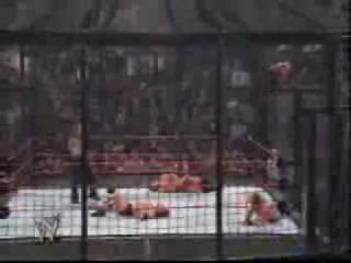 Chris Benoit - Diving Headbutt - The Elimination Chamber