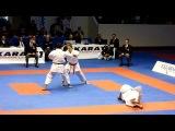 Open de paris karate 2012: Final Kata et bunkai masculin(France vs croatie) )