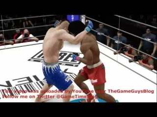 UFC Undisputed 3 Gameplay: Chuck Liddell vs. Sokoudjou (PRIDE) - Xbox 360 simulation